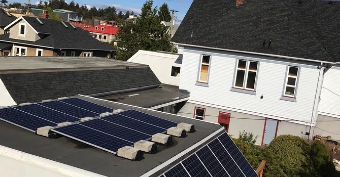Installation of Solar Panels  image