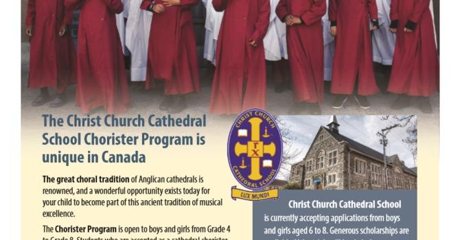 New choristers image
