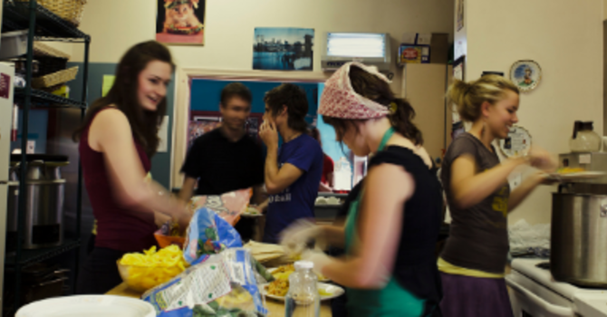 Could you lend a hand with the Agape Meal? image