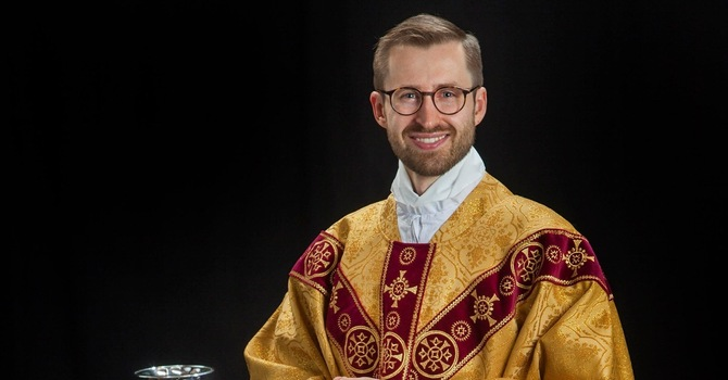 Fr. Matthew Perreault appointed as Curate image