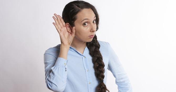 When God speaks, do we stop and listen?