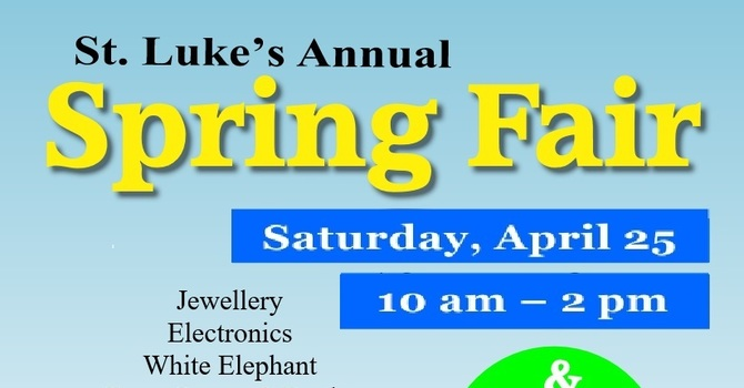 How You Can Help - Spring Fair and Tea - Cancelled image