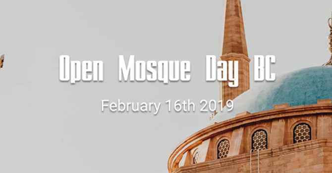 Open Mosque Day BC