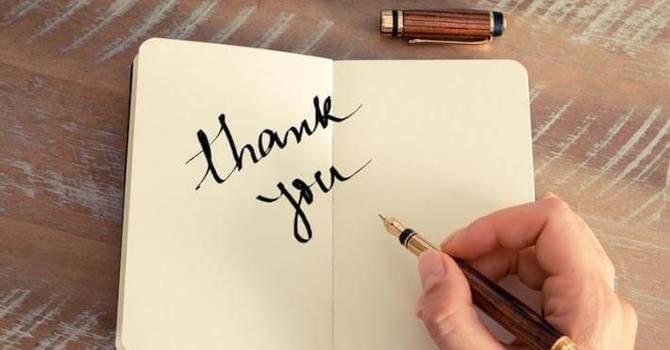 SERMON: Proactive Gratitude image
