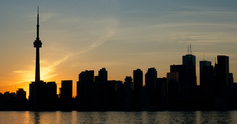 Toronto sunset fb2