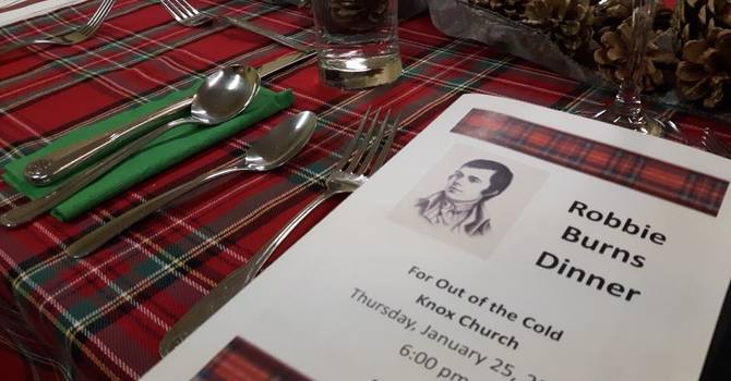 Robbie Burns Dinner a Success image