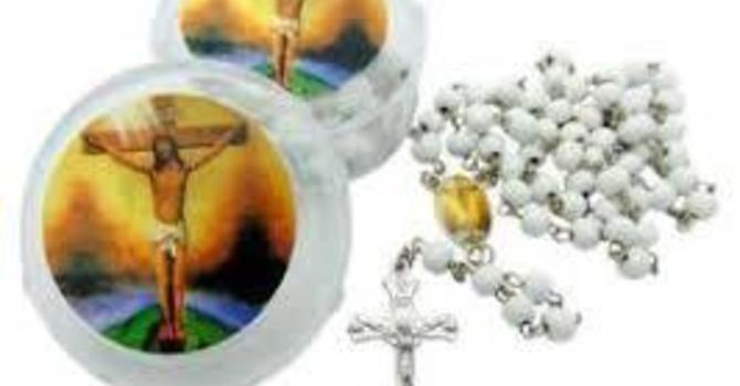 Living Rosary - Lent,  March 10 - April 14 image