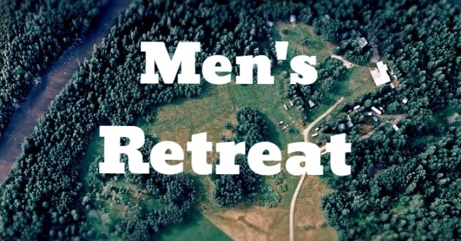 Men's Retreat Registration Open image