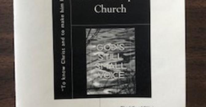 February 23, 2020 Church Bulletin image