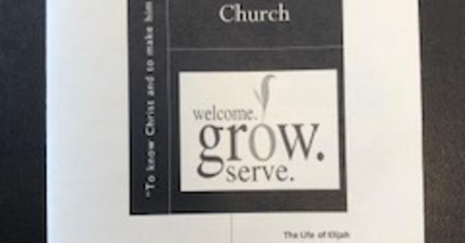 March 15, 2020 Church Bulletin image