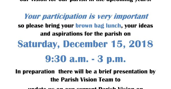 Visioning Day Saturday 15h December and Presentations Sun December 2nd image