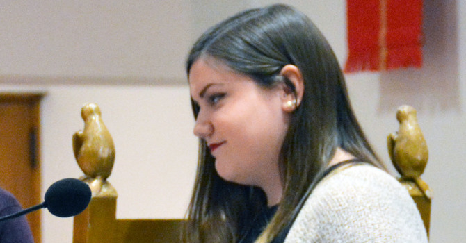 St. John's, Shaughnessy Member Attends PWRDF Youth Council