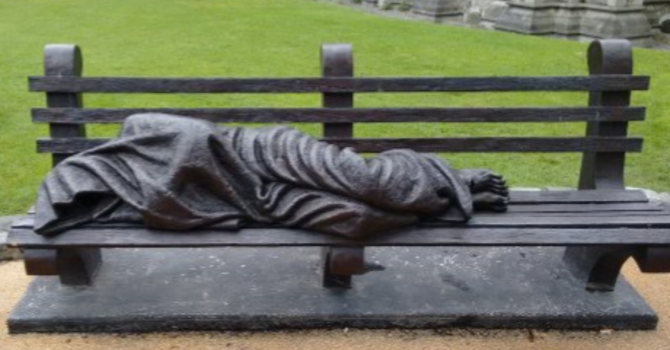 A Place at the Cathedral for Homeless Jesus image