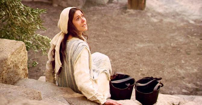 Luke 1: 26-38 and Matthew 1: 18-24a image