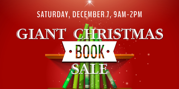 St Mary's Giant Book sale!