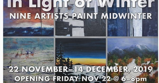 Chapel Gallery Opening:  In Light of Winter image