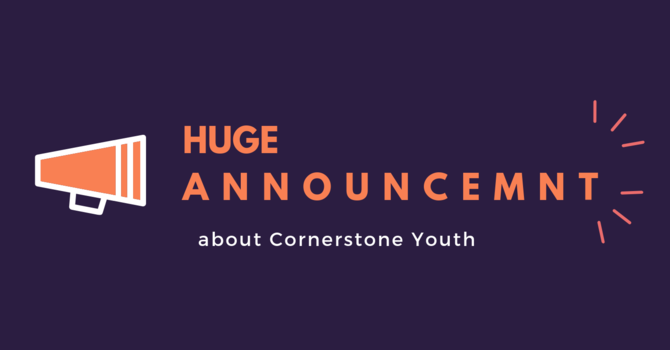 Youth Announcement image