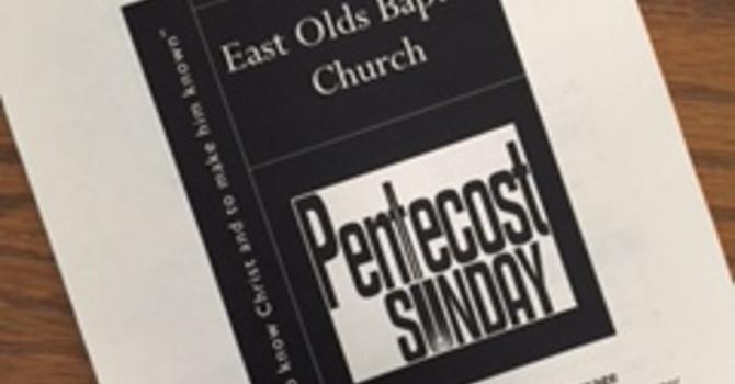 June 4, 2017 Church Bulletin image