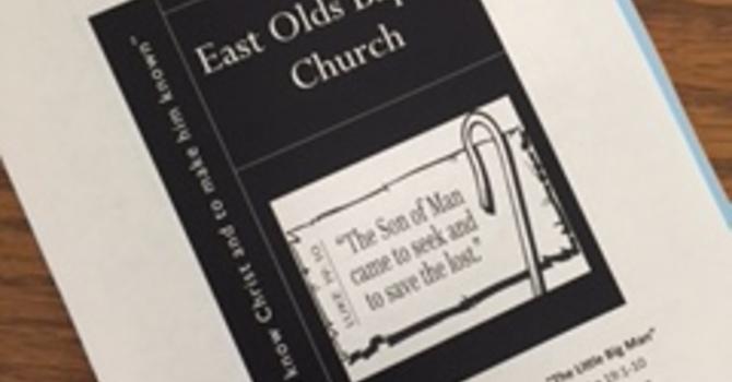 May 28, 2017 Church Bulletin image