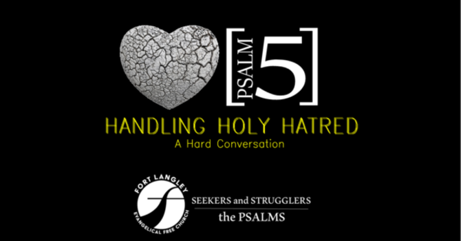 Handling Holy Hatred