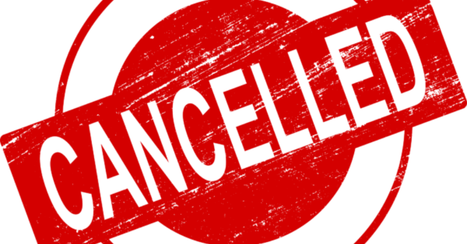 Breaking News:  Event Cancellations image