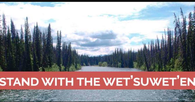 Support for the wet'suwet'en Nation