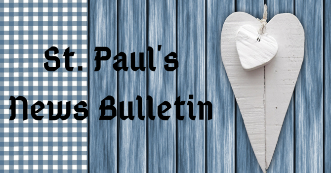 St. Paul's September 15th News Bulletin