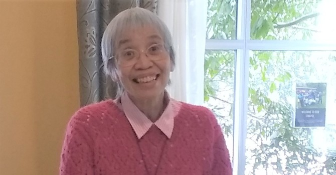 Blessings and Best Wishes for the Reverend Paulina Lee
