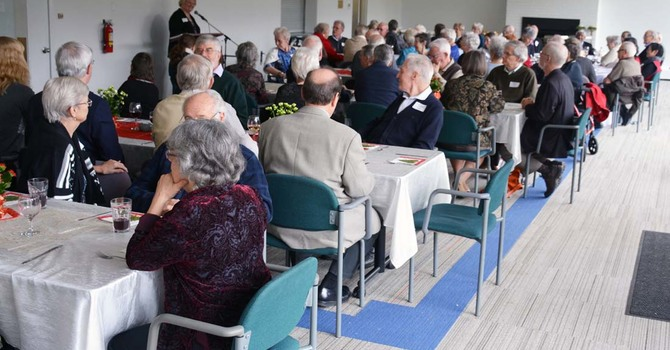 Retired Clergy and Spouses Luncheon, December Edition 2016