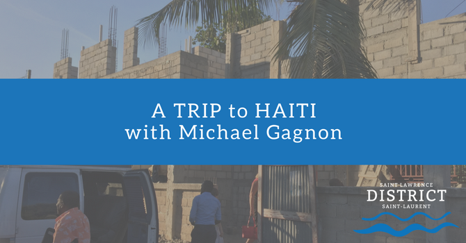 A Trip to Haiti with Michael Gagnon image