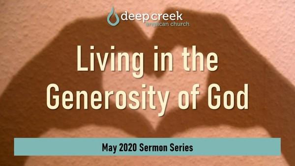 Living in the Generosity of God