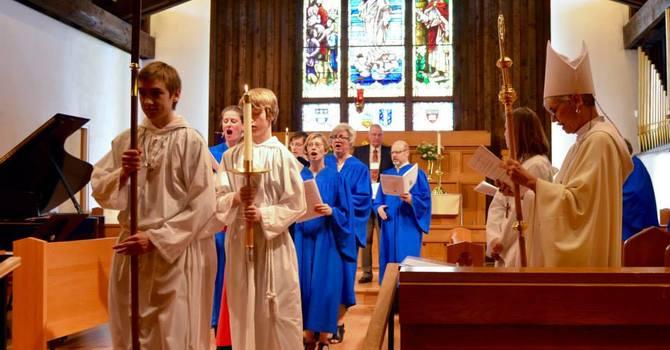 Bishop Skelton's visit image