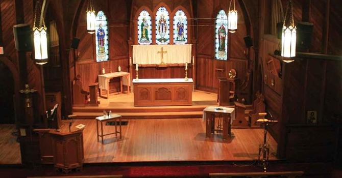 Refinished Wood Rejuvenates Church Sanctuary image