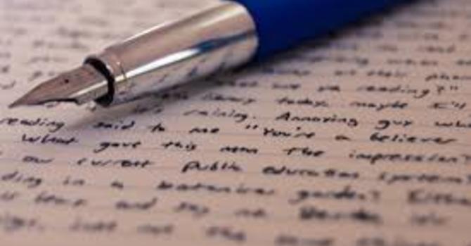 A Letter of Encouragement  image