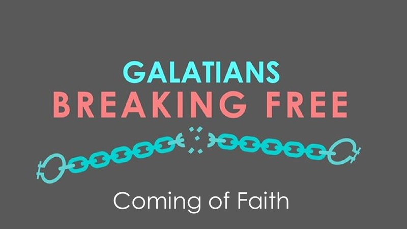 Coming of Faith