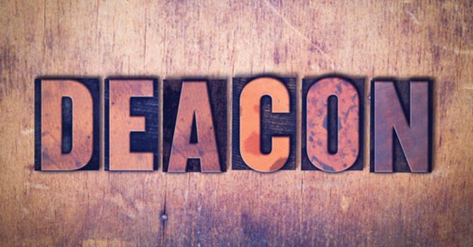 Deacon Nominee Biography image