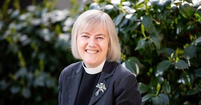 Congratulations to the Reverend Canon Ellen Clark-King image