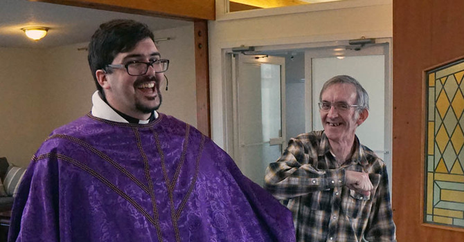 Lent II at St. John's, Squamish