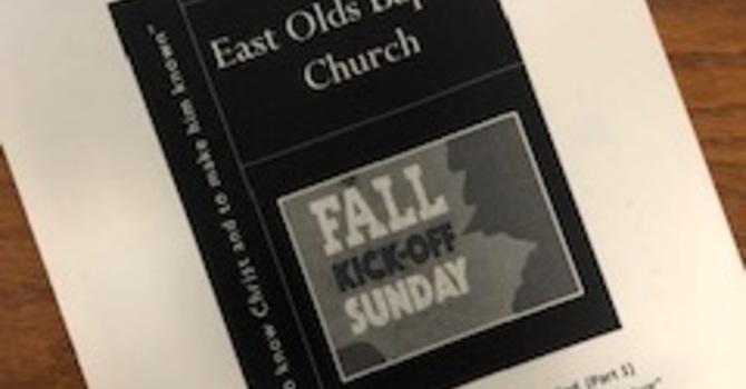 September 8, 2019 Church Bulletin image