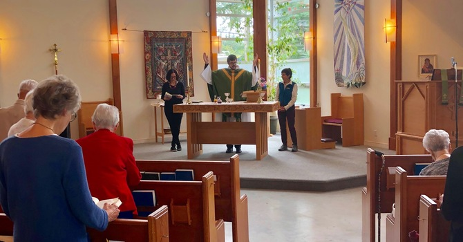 Rev. Cameron Gutjahr's First Service at St John's image