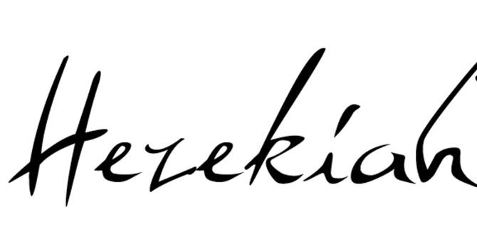 Hezekiah (3/5)