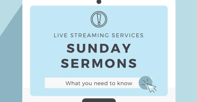 Sermon Streaming image
