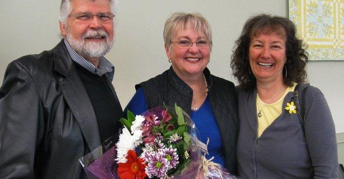 Fond Farewell To Carolyn & Steve image