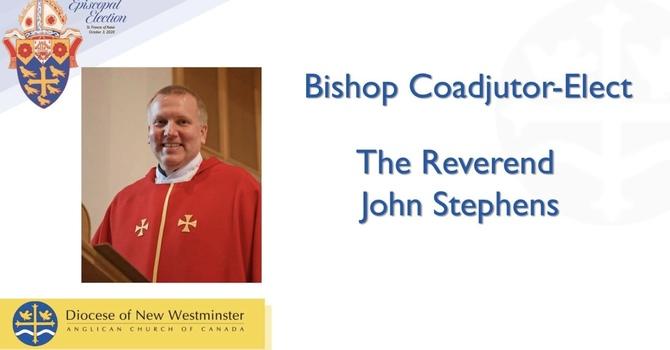 Rev John Stephens Elected Bishop Coadjutor -Elect image