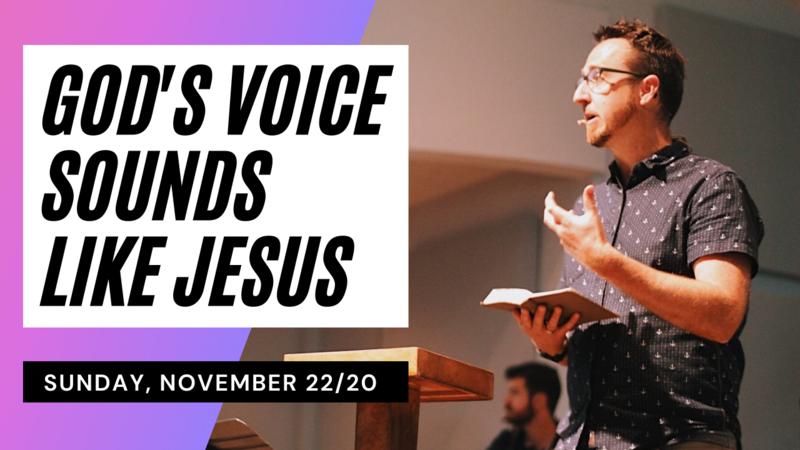 God's Voice Sounds Like Jesus