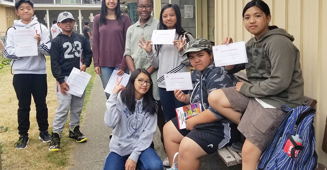 Summer Training for Young People at St. Mary's, Sapperton
