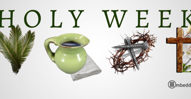 Holy Week - March 25 to April 1 image