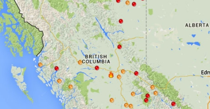 PWRDF emergency fund for BC Wildfires image