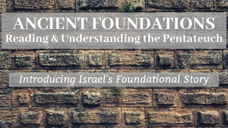 Introducing Israel's Foundational Story