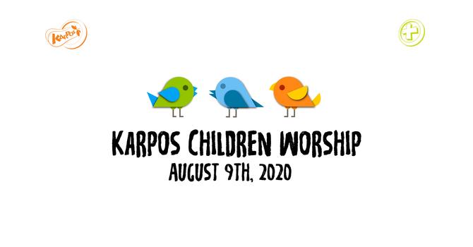 200809 Elementary Sunday Worship